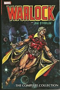 WARLOCK THE COMPLETE COLLECTION BY JIM STARLIN 2015 TRADE PAPERBACK NEAR MINT