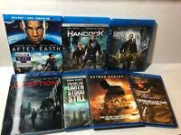 7 Lot Blu Ray Movies Sci Fi Action Will Smith Leonardo Keanu Batman Terminator