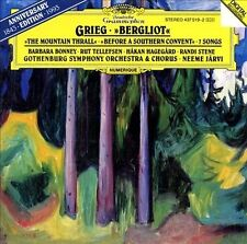 Grieg: Bergliot & 7 Lieder/Songs CD (Neeme Jarvi/Gothenberg) The Mountain Thrall