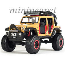 MAISTO 32523 OFF ROAD KINGS 2015 JEEP WRANGLER UNLIMITED 1/24 DIECAST BROWN