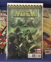 Totally Awesome Hulk #22 1st Print Weapon H Hulkverine Pak signed with CoA