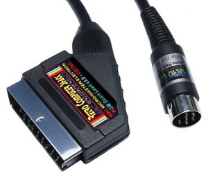 Acorn BBC B Micro, Master & Electron High Quality RGB Scart Lead Video TV Cable