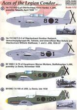 Print Scale Decals 1/72 ACES OF THE LEGION CONDOR Part 2 Bf-109 & He-112
