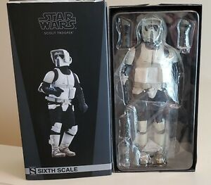 Sideshow Collectibles Scout Trooper 1/6 Star Wars Figure ROTJ