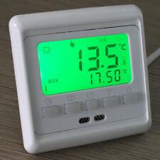 LCD Button Programmabile Riscaldamento A Pavimento Room Termostato Comando