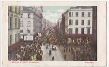 Glasgow; Argyle St PPC, Local 1904 PMK to Miss Alges, Ballymore, Co Donegal