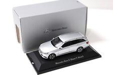 1:43 Kyosho mercedes clase e t-modelo Silver dealer New en Premium-modelcars