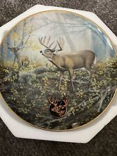 "New ListingBradford Exchange ""The Monarch's Morning� Collector Plate With Coa"