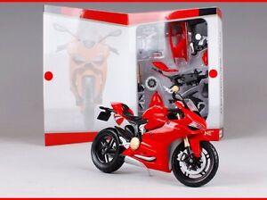 Maisto 1:12 Ducati 1199 PANIGALE Assemble DIY Motorcycle Bike Model New In Box