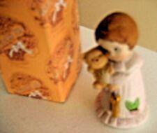 "Enesco ""Growing Up Birthday Girls Figurine"" Age 1 W/Box"
