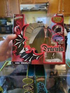 Dracula Diorama Universal Monsters Jakks Pacific 2003