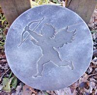"Hamsa hand stepping stone mold plaster concrete casting mould 12/"" X 1.5/"""