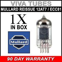 Brand New In Box Gain Tested Mullard Reissue 12AT7 ECC81 Vacuum Tube