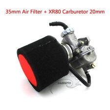 35mm Foam Air Filter Carb Carburetor For For Honda XR80 XR80R Dirt Pit Bike