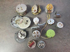 Huge Lot Of Vintage Electric Clock Motors As Is For Parts / Repair (806A)