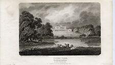 1803 Print of Stoke Park, Buckinghamshire