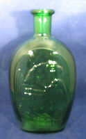 Wheaton Lady Liberty / Eagle Decanter Bottle Green Glass