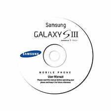 Samsung Galaxy S III (S3) Smartphone User Manual (JellyBean) for T-Mobile on CD