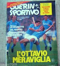 GUERIN SPORTIVO=N°14 1987=SCUDETTO NAPOLI =