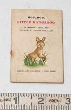 Minuscule Livre Hop, Hop, Petit Kangourou Broché