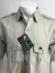 MOSSY OAK Men's Shirts  Small  Button Up Short Sleeve Camo Outdoors