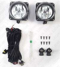 Clear Lens Fog Light For Ford 02-04 Focus SVT 03-04 Mustang Cobra 05-07 Escape