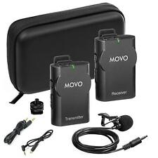 Movo WMIC10 2.4GHz Wireless Lavalier Microphone System for GoPro