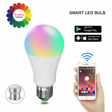 15W/20W Bluetooth Wireless Dimmable Smart RGB Light Bulb LED Color Changing Lamp