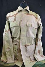 USGI Army Military Surplus Desert Camo DC BDU Shirt Jacket Coat Small Reg NEW