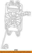 Chevrolet GM OEM 14-18 Corvette 6.2L-V8 Transmission Oil Cooler-Fan 22818943
