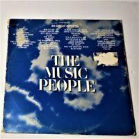 The Music People: Columbia 1972 Vinyl 3x LP Gatefold Compilation (Rock / Pop)