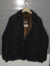barbour bedale jacket waxed cotton  blue  + inner pile  c46/117 XL