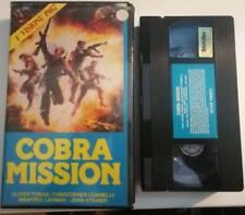 VHS COBRA MISSION di Larry Ludman [STAR VIDEO]