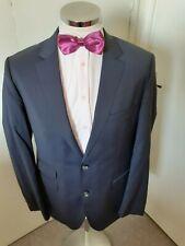 "HUGO BOSS The Sweet3/Sharp5 Men's Black Stripe Suit Jacket C42"" Reg Classic Wool"