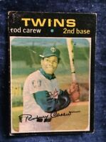 Vintage 1971 Topps Rod Carew Baseball Card #210 Minnesota Twins Low Grade