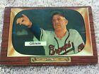 1955 Bowman Baseball Cards 72