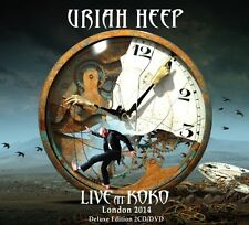 URIAH HEEP - Live at Koko 2 CD + DVD