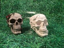 LATEX ONLY MOULD SKULL 12CM TALL ORNAMENT MOULD