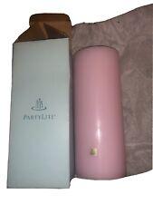 "New ListingPartylite 3"" x 7"" Strawberry Rhubarb Pillar Candle New Nib!"