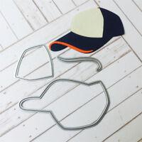 Baseball cap Metal Cutting Dies Stencil Scrapbook Paper Cards Craft Embossing be