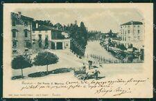 Treviso Città Ponte San Martino Carretto cartolina QT3925