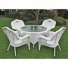 Attirant Wicker Dining Sets For Sale | EBay
