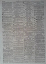 1864 ADVERT MORSON'S PEPSINE WINE-RIMMEL'S LIMEJUICE-YOUNG'S CORN PLASTERS