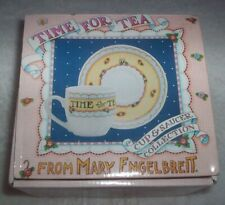 Time for Tea : Cup & Saucer by Mary Engelbreit - New in Original Box
