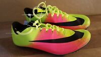 Nike Zoom JA Fly Rio Track Racing Spikes Shoes Volt 882032-99 Mens 10-11.5