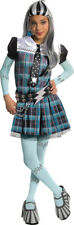 Monster High Frankie Stein Deluxe Child Halloween Girls Fancy Dress Costume