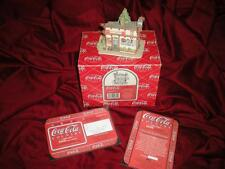 "LILLIPUT LANE ""COCA COLA"" RETIRED MIB COA ""A CHERRY COKE--JUST THE PRESCRITION"