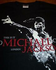 MICHAEL JACKSON THIS IS IT  LONDON T-shirt SMALL NEW