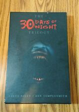 30 DAYS OF NIGHT Trilogy Slipcase Omnibus HARDCOVER Niles Templesmith IDW