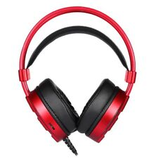 Gaming Headset Wired Surround Stereo Headphones with Mic LED Light  For Games